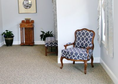 Funeral Home room
