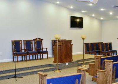 Chapel Podium